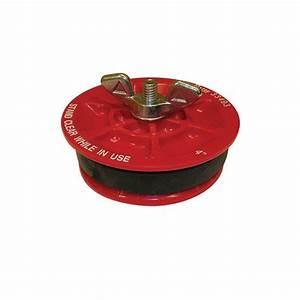 Oatey 4 in Gripper Mechanical Plastic Test Plug-33403D