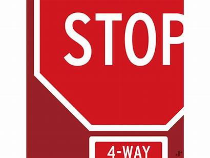 Stop Sign Innerstate Dribbble Animated