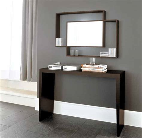 modern console table with mirror 9 ideas to decorate glass modern console