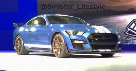 2019 Ford Mustang Gt500 by 2019 Ford Mustang Shelby Gt500 Leaked Caradvice