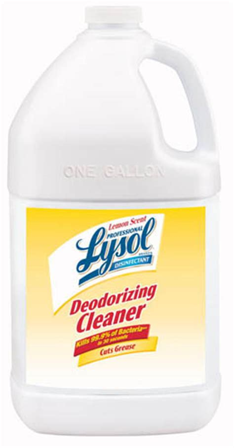 Lysol Floor Cleaner Concentrate by Professional Lysol 174 Disinfectant Deodorizing Cleaner