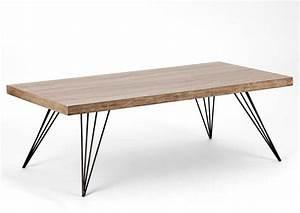 Pied Table Scandinave : table basse style scandinave pas cher ~ Teatrodelosmanantiales.com Idées de Décoration