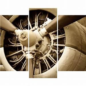 Hélice D Avion Déco : sticker l h lice d avion vintage stickers art et design ambiance sticker ~ Teatrodelosmanantiales.com Idées de Décoration