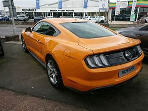2018 model Ford Mustang 5.0 V8 GT Orange Fury Fastback 10 speed auto recaro seat | in Exeter ...