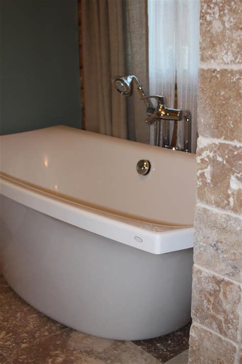 Kohler Freestanding Bathtub Faucet by Log Home Progress Kohler Escale Line Freestanding Tub And