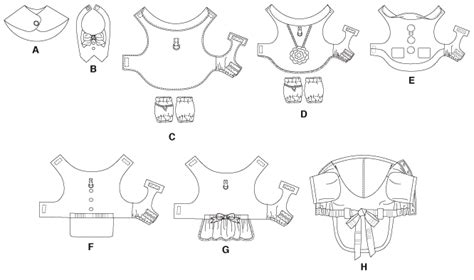 Free Printable Sewing Patterns Dog  M5998  Pet Clothes