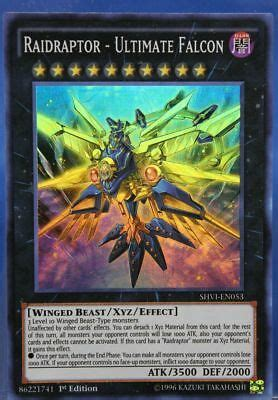 RAIDRAPTOR - ULTIMATE FALCON *** SUPER RARE SHVI-EN053 ...