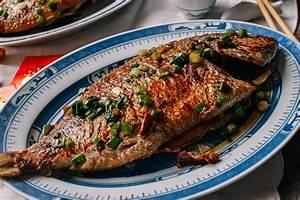 Pan Fried Fish - Chinese Whole Fish Recipe - The Woks of Life