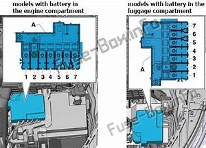 Fuse Box Diagram Audi A1  8x  2010