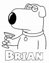 Guy Coloring Drawings Brian Griffin Peter Printable Colouring Cartoon Drawing Sheets Stewie Azcoloring Lois Guys Clipart Adult Cleveland Sneetch Meg sketch template