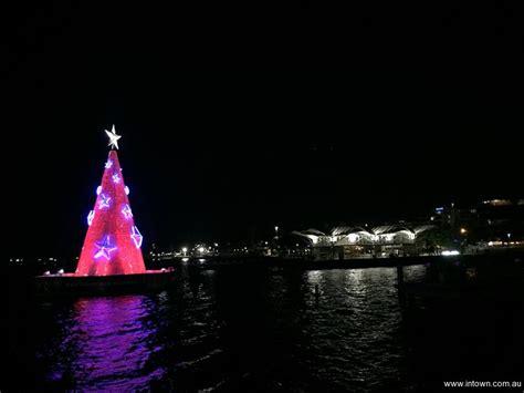 floating christmas tree intown geelong