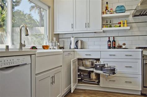 kitchen cabinet configurations a rustic modern makeover san diego magazine january 2427