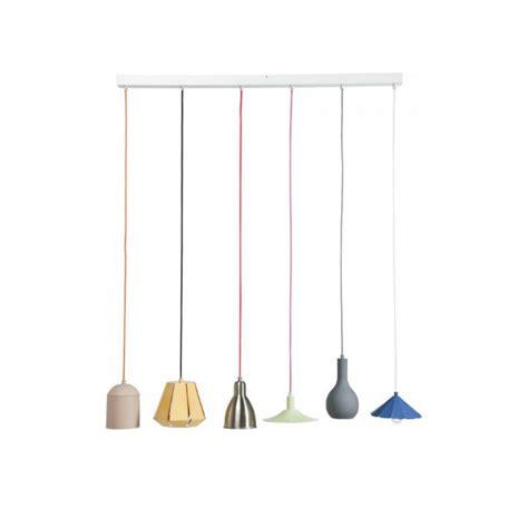 suspension luminaire cuisine design suspension 233 aire el mundo dining 6l multicouleur kare