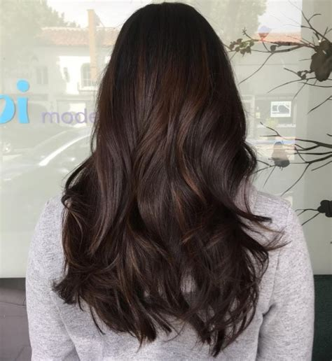 Rich Espresso Brown Hair by 60 Chocolate Brown Hair Color Ideas For Brunettes