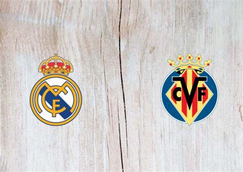 Real Madrid vs Villarreal Full Match & Highlights 16 July ...