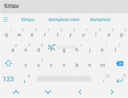 Keyboard Android Tampilan Cara Mengubah Agar Qwerty