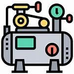 Compressor Air Icon Pump Pressure Icons Engine