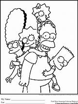 Simpsons Coloring Pages Simpson Colouring Printable Bart Sheets Cartoons Printables Disney Colour Characters Yellow Cartoon Adults Adult Hungry Caterpillar Very sketch template