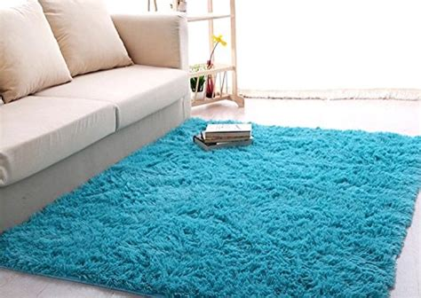 soft bedroom rugs roewell 174 soft 4 5 cm thick modern shag area rugs