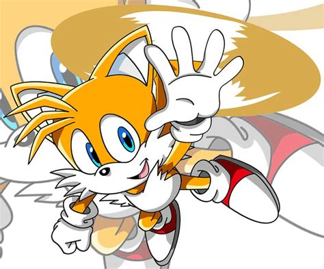 Miles Tails Prower Flying
