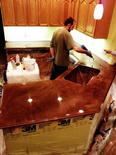 home diy countertop bar top  flooring epoxy   build  castle pinterest