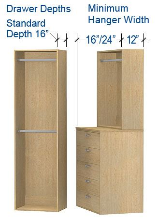 Closet Sizing Custom Garage Cabinets