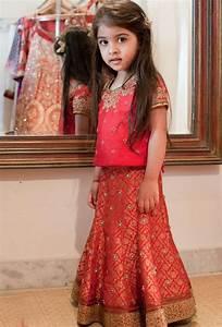 Sharara & Gharara Suit For Kids, Ghagra Choli Designs 2016 PakistaniLadies