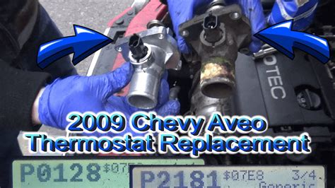 Thermostat Replacement Chevy Aveo Youtube