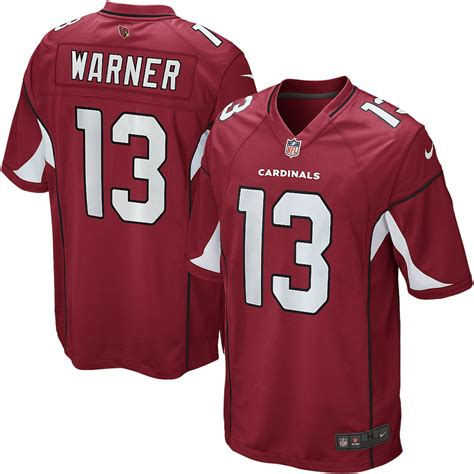 Youth Nike Kurt Warner Cardinal Arizona Cardinals Retired ...