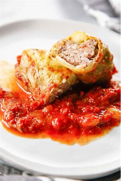 Cabbage Stuffed Polish Rolls Fashioned Recipe Golumpki
