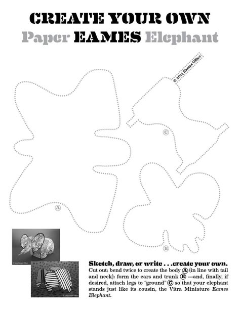 Elephant Template Best 25 Elephant Template Ideas On Elephant