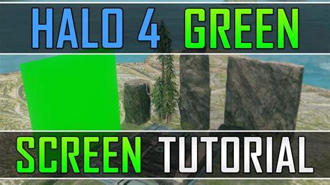 Halo 4 Green Screen Tutorial  Forge Island (photoshop