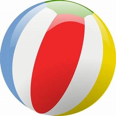 Beach Ball Clip Vector Svg Drawing 46kb