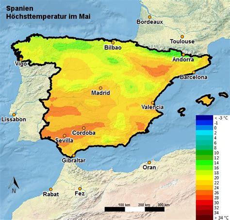spanien wetter klima im mai temperatur regen