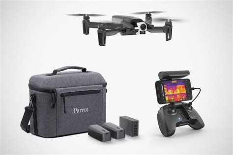 parrot announced  anafi drone designed  thermal imaging shouts