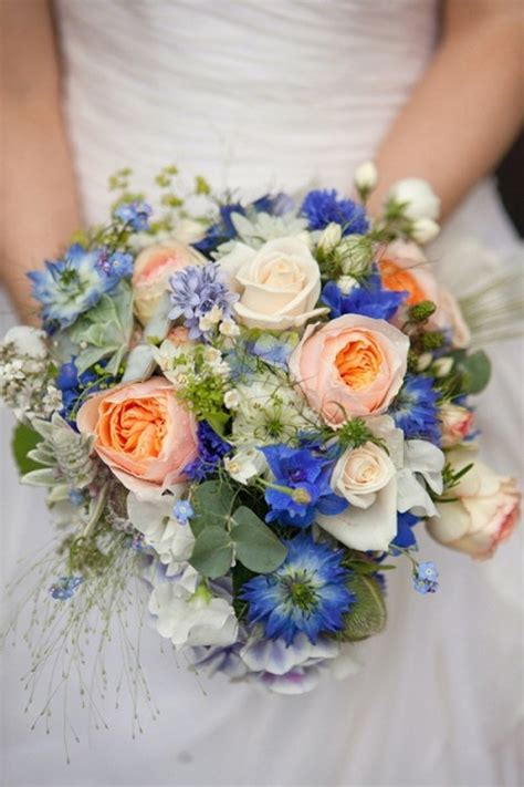 beautiful bright summer wedding bouquets weddingomania