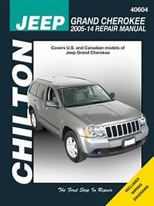 Jeep Grand Cherokee Chilton Manual  2005-2014