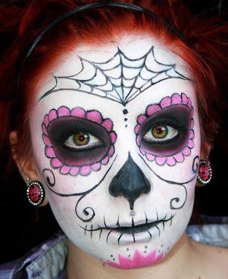 faire un maquillage t 234 te de mort mexicaine pour