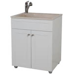 glacier bay all in one 27 in colorpoint premium laundry sink and cabinet bcp2732com wh on popscreen