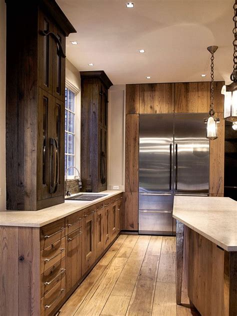 kitchen cabinets images photos best 25 rustic hickory cabinets ideas on 6116
