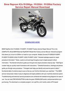 Bmw Reprom K2x R1200gs R1200rt R1200st Factor By Toby Schane