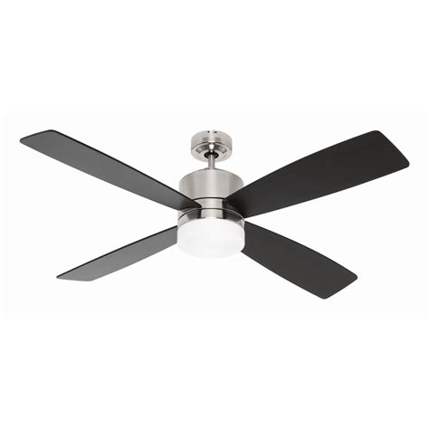 mercator cylindix 132cm 4 blade brushed chrome ceiling fan