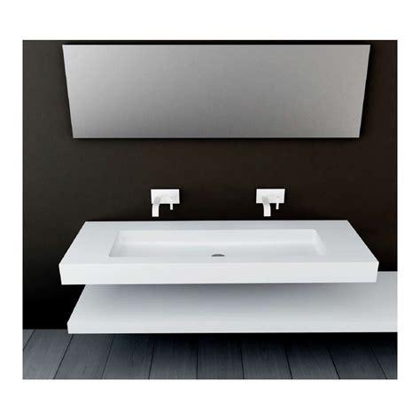 robinet de cuisine avec douchette plan vasque mural blanc mat soho solid surface vasque xl