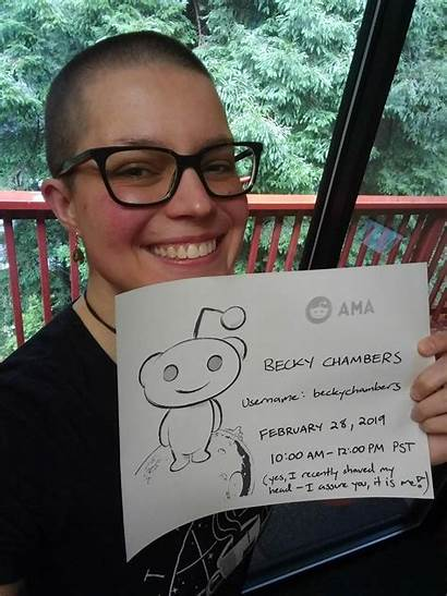 Becky Chambers Reddit Author Books Hi Angry