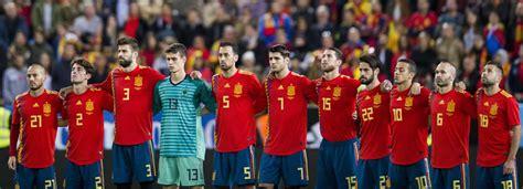 Die spanische nationalmannschaft, spanisch la selección española de fútbol, kurz la selección spanien bei einer fußball weltmeisterschaft. FIFA droht Spanien in einem Schreiben mit dem WM-Ausschluss