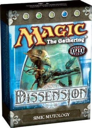 Mtg Preconstructed Decks 2015 by Dissension Simic Mutology Preconstructed Theme Deck Mtg