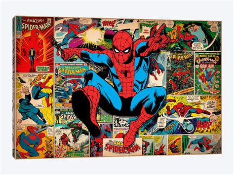 Bilddruck Auf Leinwand by Marvel Comic Book Spider On Spider Covers And