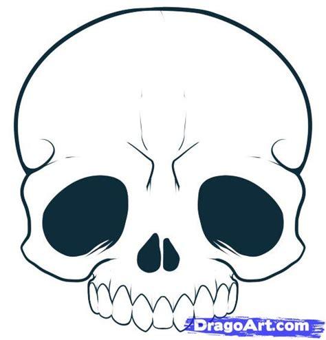draw  cartoon skull step  step skulls pop