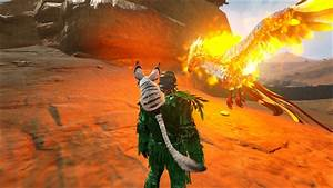 Ark alpha fire wyvern — ark survival evolved - the best game play