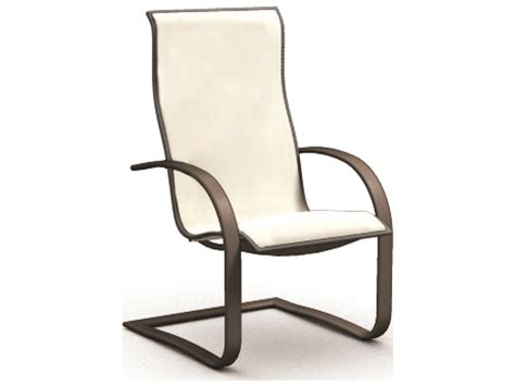 homecrest patio chair replacement slings homecrest sling aluminum base dining chair 44800